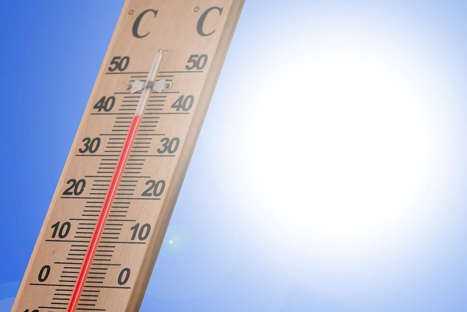 La canicule en été, attention au coup de chaud!